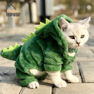 NEW 💙 Cat/Dog Clothing - Fluffy Dinosaur 🦖